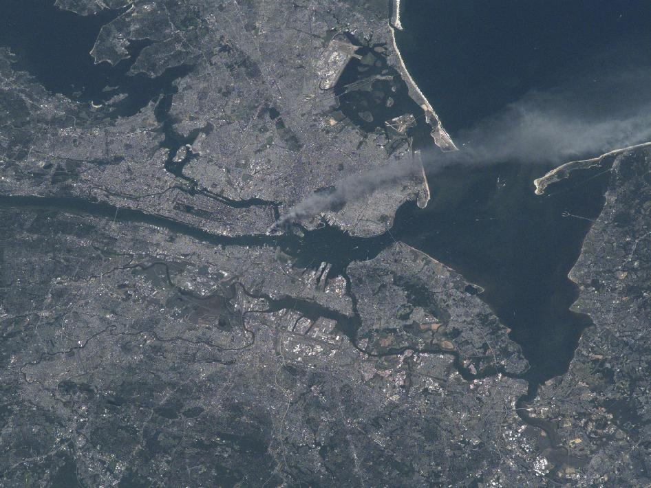 September 11 from space