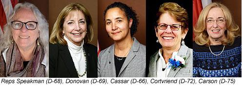 Reps Speakman, Donovan, Cassar, Cortvriend, Carson